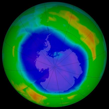 Châu Á-TBD dùng nhiều chất phá hoại tầng ozone