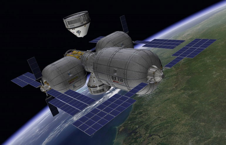 Hạ cánh thành công khoang chứa CST 100 bằng túi khí