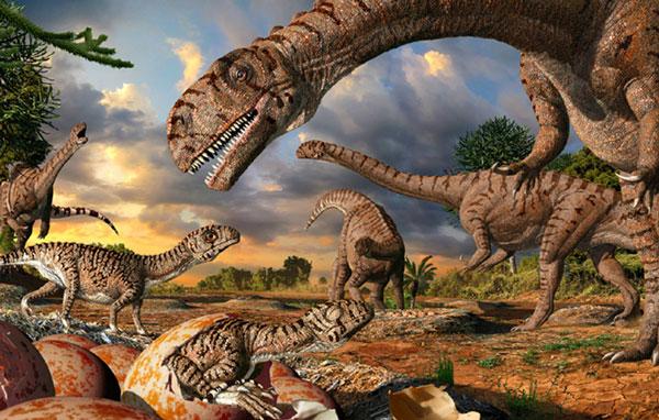 Tại sao khủng long khổng lồ đẻ con bé xíu?