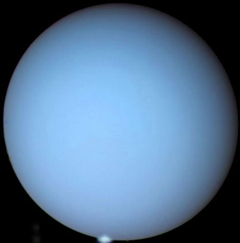 Cực quang trên sao Thiên Vương
