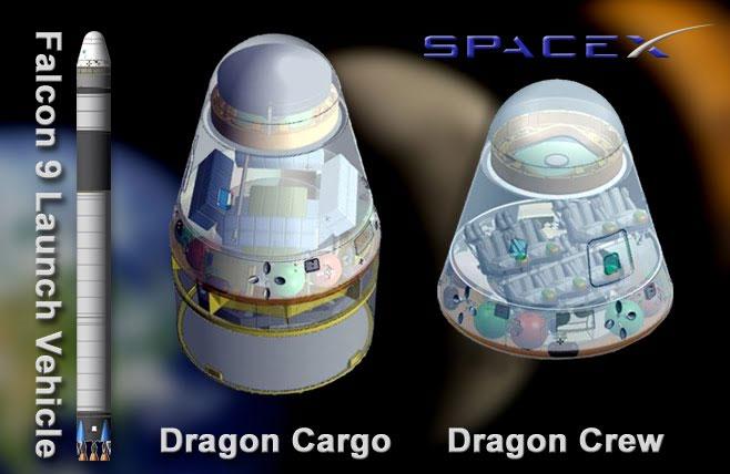 Tàu vũ trụ tư nhân kết nối ISS