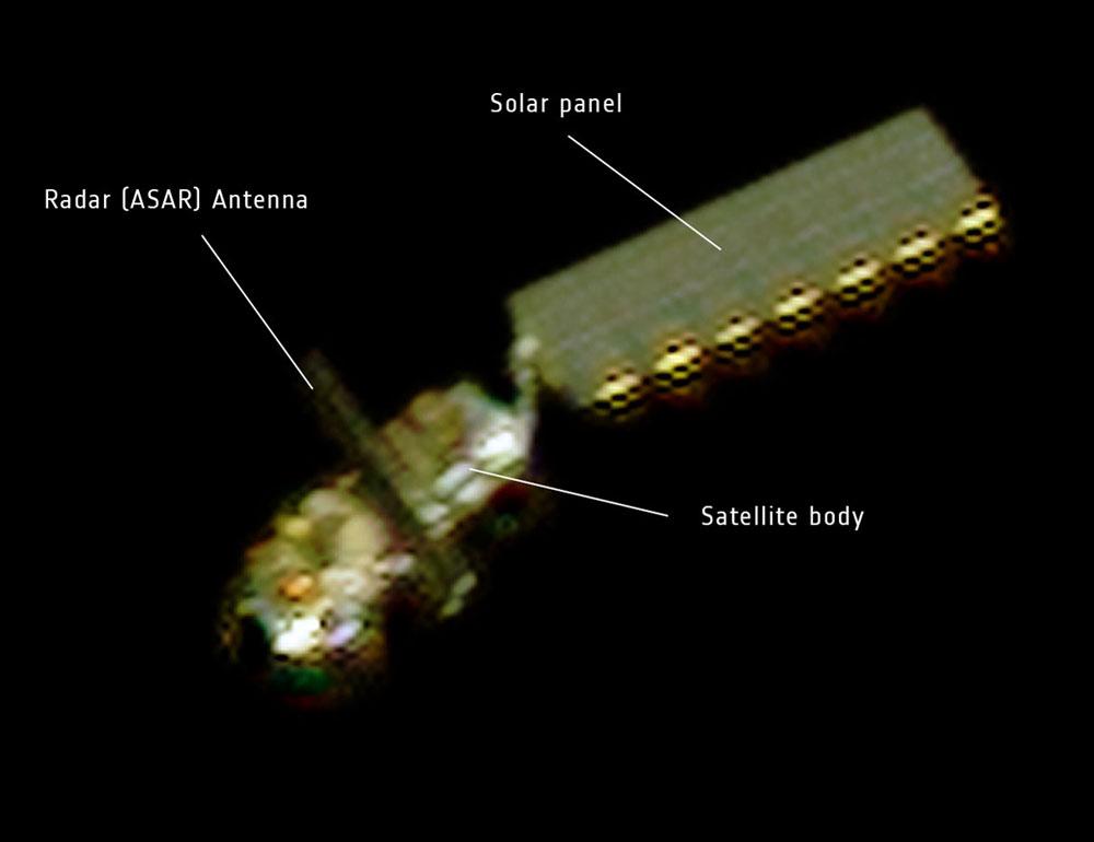 Chụp được ảnh vệ tinh lớn nhất thế giới mất tích
