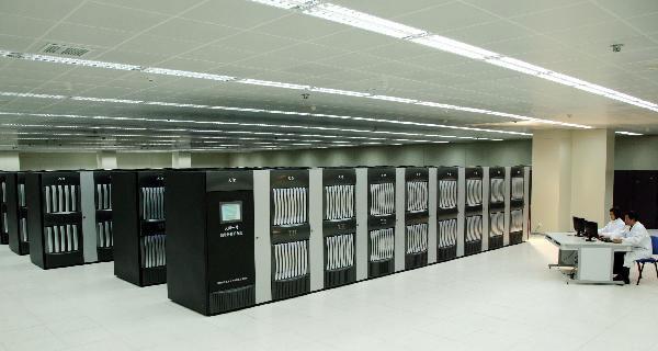 Siêu máy tính Tianhe 1A của Trung Quốc là máy tính nhanh nhất thế giới của Trung Quốc năm 2010