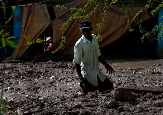 Sạt lở bùn tại Haiti