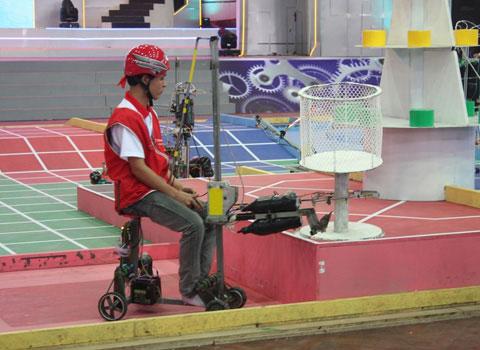 Năm 2013, Việt Nam đăng cai robocon châu Á