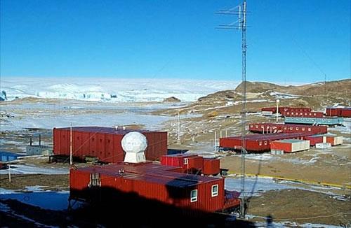 Trạm Trung Sơn của Trung Quốc ở Nam Cực.