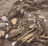 Phát lộ 70 ngôi mộ cổ táng nghiêng ở Cồn Cổ Ngựa