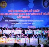 Học sinh Chu Văn An đoạt giải khoa học kỹ thuật