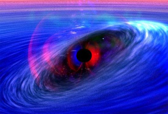 Hố đen dưới sự tưởng tượng của các chuyên gia.