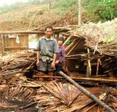 Mưa đá lại rơi xuống Lào Cai