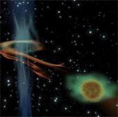 """Lỗ đen thức giấc sau 30 năm, """"nuốt sống"""" siêu sao Mộc"""