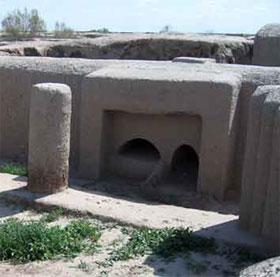 Bí ẩn cổ đại xuất hiện trong sa mạc Turkmenistan