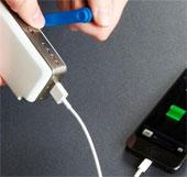 Sạc pin điện thoại khi mất điện