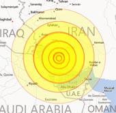 Động đất gần nhà máy hạt nhân Iran, 30 người chết