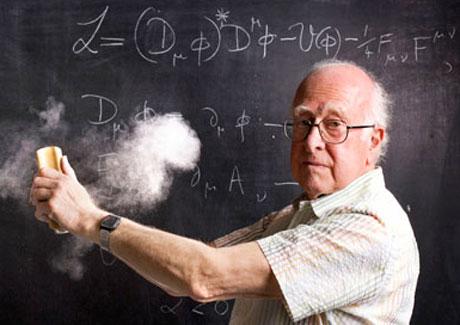 Giáo sư Peter Higgs.