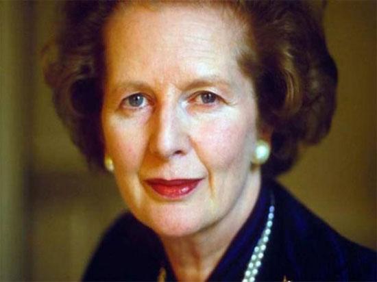 Cố thủ tướng Anh Margaret Thatcher.