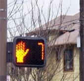 Tác hại của đèn giao thông đếm ngược