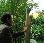 Rác thải thành điện thắp sáng nông thôn