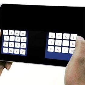 Bàn phím mới cho màn hình chạm