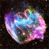 Trái đất từng hứng bụi siêu tân tinh