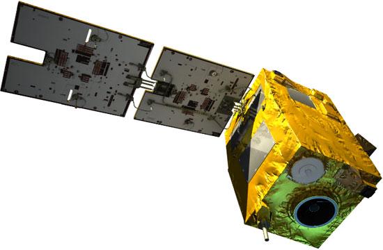 Hình ảnh của VNREDSat-1.