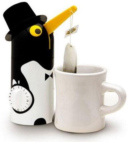 Kẹp nhúng túi trà tự động.