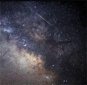 Cảnh tượng sao băng Lyrids ở Mỹ