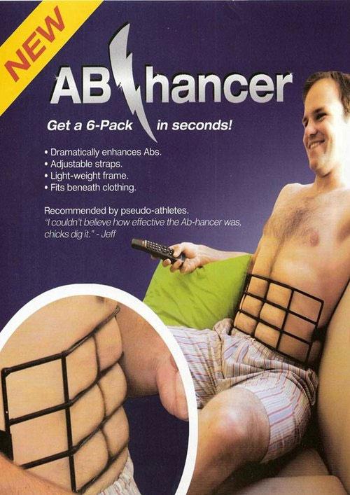 Thiết bị giúp quý ông có thân hình cơ 6 múi không cần tập luyện.