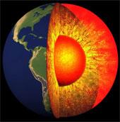 Nhiệt độ lõi trái đất cao đến mức bất ngờ