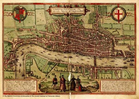 So sánh bản đồ thế kỷ 16 và bản đồ vệ tinh ngày nay