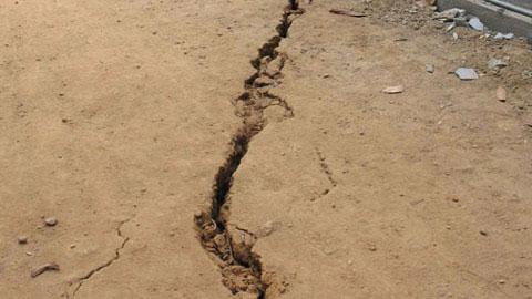 Nứt đất tại Lâm Đồng khó xảy ra động đất