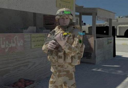 """Áo """"tàng hình"""" cho binh lính"""