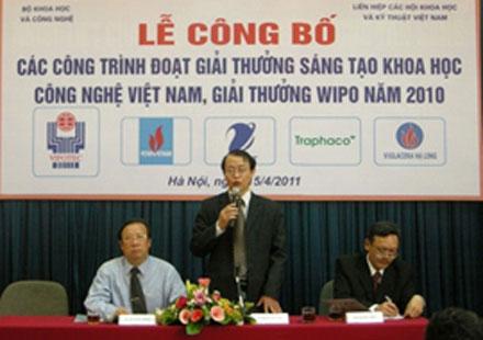 Hà Nội phát động giải thưởng Sáng tạo KHCN 2011