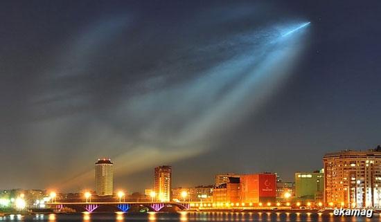 Phi thuyền của người ngoài hành tinh xuất hiện ở Nga?