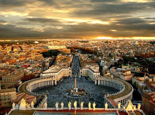 Hoang mang tin động đất ở Rome