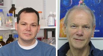 Bác sĩ Eli Pikarsky (trái) và Giáo sư Yinon Ben-Neriah
