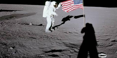 Thêm bằng chứng Mỹ chưa từng lên Mặt trăng