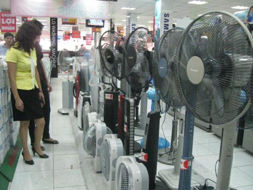 Lợi ích của quạt tích điện cho mùa hè