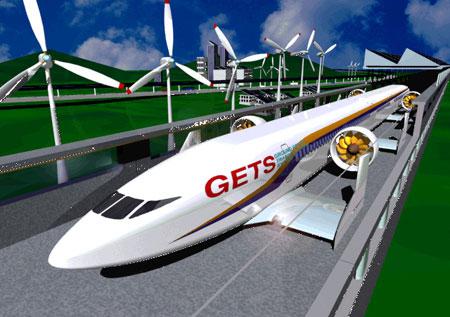 Tàu cao tốc bay sát mặt đất
