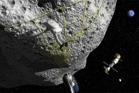 Nasa giả lập thiên thạch dưới đáy biển