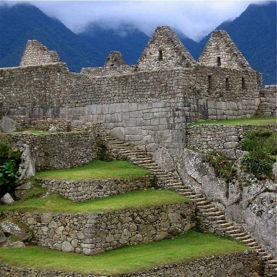 Machu picchu là một tàn tích Inca thời tiền Columbo