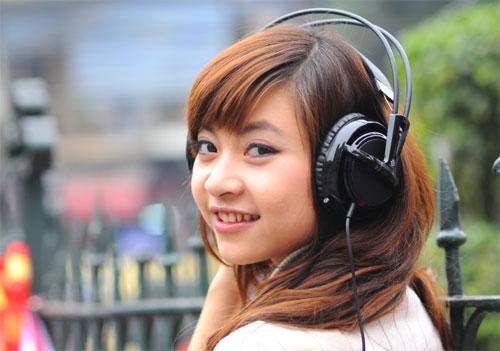 Nghe nhạc quá lớn có thể khiến phụ nữ phát điên