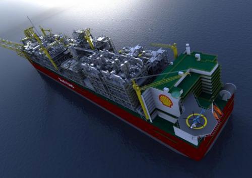 Tầu khai thác gas lớn nhất thế giới sẽ bự hơn một mẫu hạm