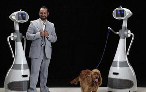 """Xem robot """"ô sin"""" ở Mỹ"""