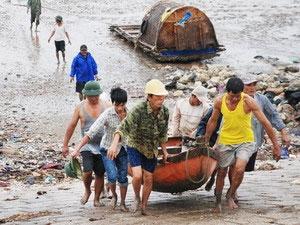 Từ Quảng Ninh đến Kiên Giang phòng bão Songda