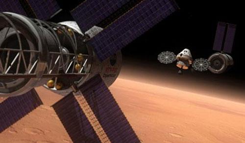 Nasa hé lộ mẫu tàu vũ trụ mới