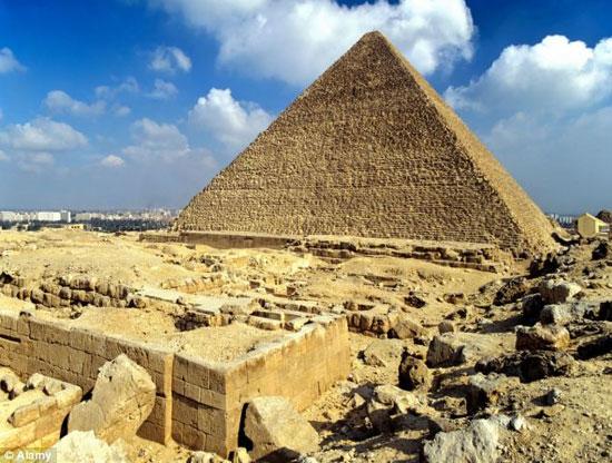 Kim tự tháp ở Ai Cập vẫn còn ẩn chứa nhiều điều bí mật.