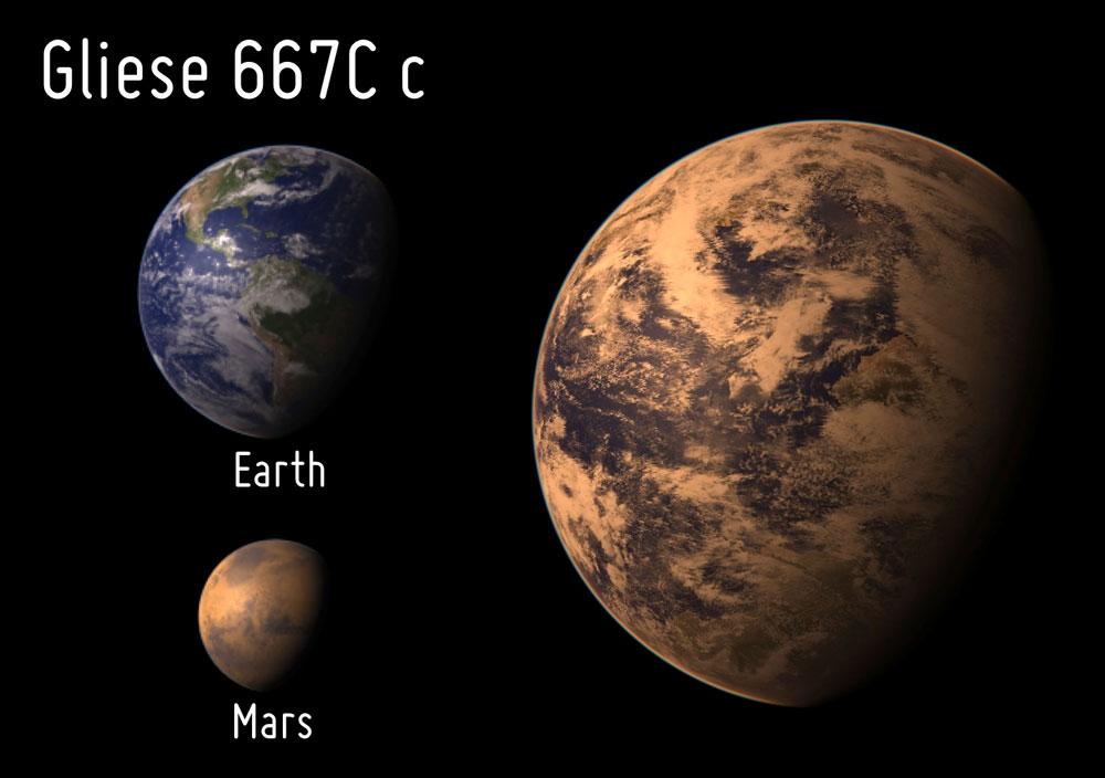 Hành tinh Gliese 667Cc