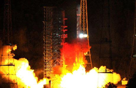 Cặp vệ tinh định vị của Trung Quốc bay lên vũ trụ