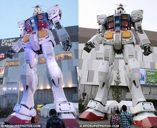 Video: Robot khổng lồ Gundam